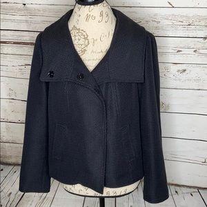 Dana Buchman Textured Cropped Blazer/Jacket